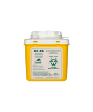 D2 Ecoship 2 Litre Single-Use Sharps Container