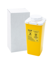 D4 Ecoship Single-Use Sharps Container