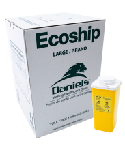 D4 Ecoship Sharps Container Kit Large