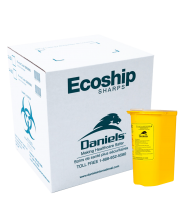 Ecoship Small Single-Use Sharps Container Kit