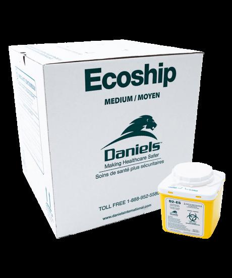 D2 Ecoship Sharps Container Kit Medium
