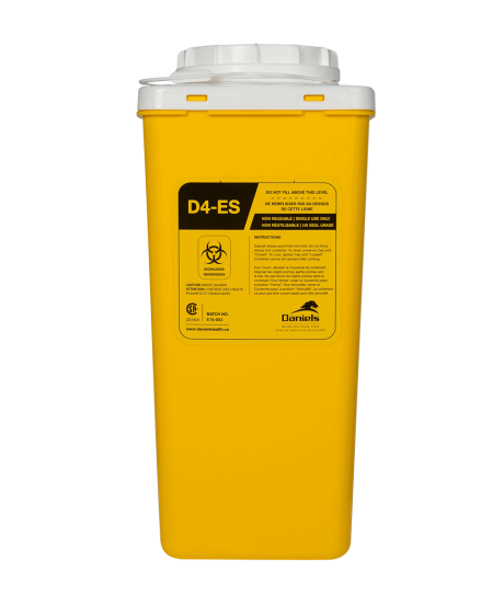 D4 Ecoship Sharps Container 4 Litre
