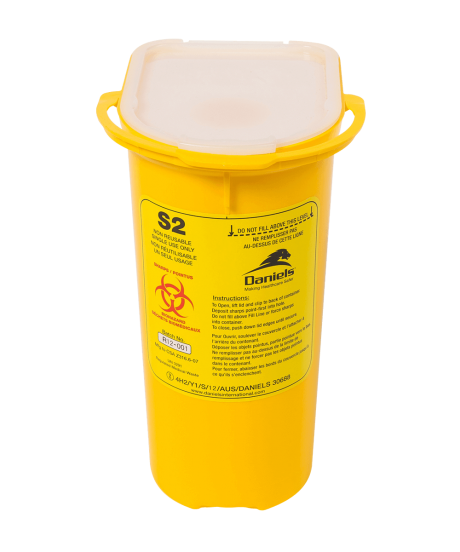S2 Single Use Sharps Container