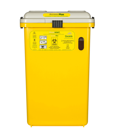 S32 Sharpsmart Acess Plus Sharps Container
